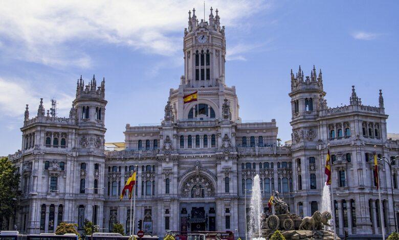 صورة من بنك الصور على الانترنت لبلدية مدريد