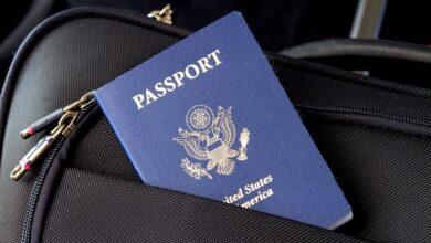 صورة تعبيرية لوثيقة سفر من بنك الصور على الانترنت